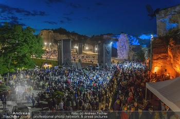 Die Zauberflöte Premiere - Oper im Steinbruch St. Margarethen - Mi 10.07.2019 - Pausenempfang im Steinbruch126