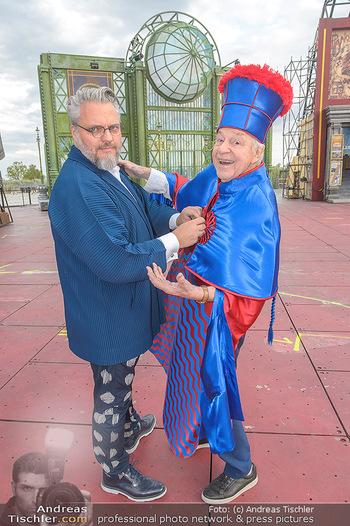 Das Land des Lächelns Premiere - Seefestspiele Mörbisch - Do 11.07.2019 - Harald SERAFIN auf der Bühne, Kristof CREMER6