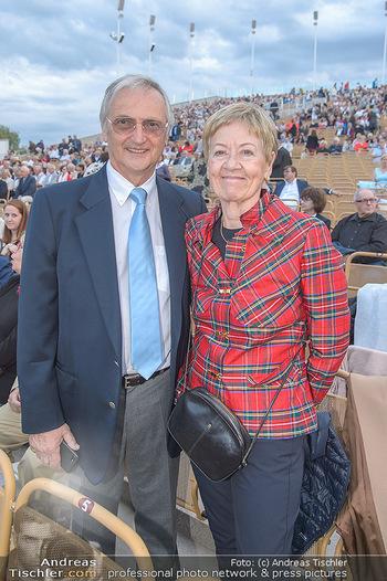 Das Land des Lächelns Premiere - Seefestspiele Mörbisch - Do 11.07.2019 - Karl und Johanna KOLARIK55