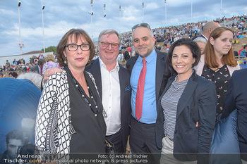 Das Land des Lächelns Premiere - Seefestspiele Mörbisch - Do 11.07.2019 - Karl WESSELY, Matthias GRÜN mit Ehefrauen56