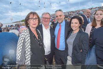 Das Land des Lächelns Premiere - Seefestspiele Mörbisch - Do 11.07.2019 - Karl WESSELY, Matthias GRÜN mit Ehefrauen57