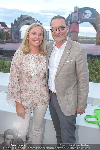 Das Land des Lächelns Premiere - Seefestspiele Mörbisch - Do 11.07.2019 - Heinz STIASTNY mit Ehefrau Michaela63