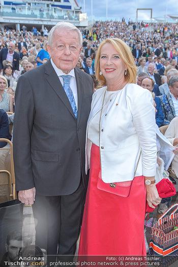 Das Land des Lächelns Premiere - Seefestspiele Mörbisch - Do 11.07.2019 - Franz VRANITZKY, Doris BURES67