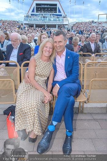 Das Land des Lächelns Premiere - Seefestspiele Mörbisch - Do 11.07.2019 - Thomas STARLINGER mit Ehefrau Ursula75