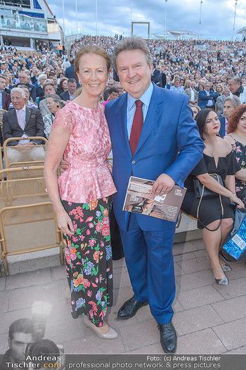 Das Land des Lächelns Premiere - Seefestspiele Mörbisch - Do 11.07.2019 - Michael LUDWIG mit Ehefrau Irmtraud80