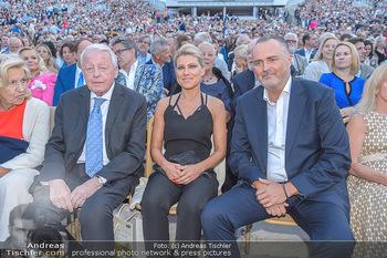 Das Land des Lächelns Premiere - Seefestspiele Mörbisch - Do 11.07.2019 - Christine und Franz VRANITZKY, Hans Peter DOSKOZIL mit Freundin 81