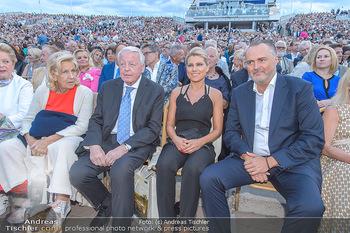 Das Land des Lächelns Premiere - Seefestspiele Mörbisch - Do 11.07.2019 - Christine und Franz VRANITZKY, Hans Peter DOSKOZIL mit Freundin 82