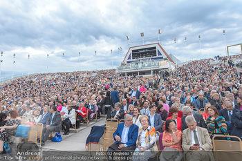 Das Land des Lächelns Premiere - Seefestspiele Mörbisch - Do 11.07.2019 - Publikum, Zuschauer, Tribünen, Premierengäste, Ränge83