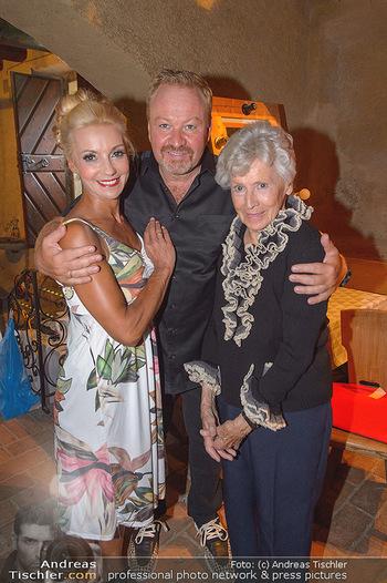 Premiere ´Keine Ruh´ fürs Donauweibchen´ - Wachaufestspiele Weißenkirchen - Di 16.07.2019 - Familie Waltraud HAAS mit Sohn Marcus STRAHL und Leila STRAHL11
