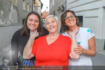 Premiere ´Keine Ruh´ fürs Donauweibchen´ - Wachaufestspiele Weißenkirchen - Di 16.07.2019 - Familie JAZZ GITTI mit Tochter Shlomit BUTBUL und Enkeltochter N30