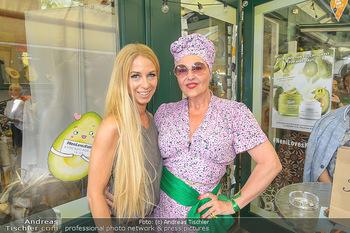 Kiehl´s Avocado Creme Präsentation - Neni am Naschmarkt, Wien - Mi 31.07.2019 - Andrea BUDAY, Yvonne RUEFF2