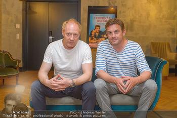 Interviewtermin Leberkäsjunkie - Max Brown Hotel, Wien - Do 01.08.2019 - Simon SCHWARZ, Sebastian BEZZEL1