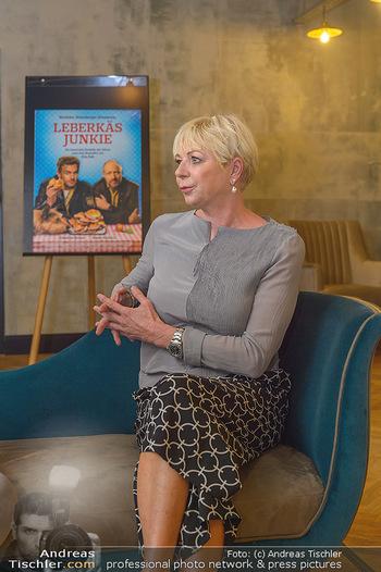 Interviewtermin Leberkäsjunkie - Max Brown Hotel, Wien - Do 01.08.2019 - Rita FALK3