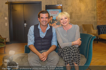 Interviewtermin Leberkäsjunkie - Max Brown Hotel, Wien - Do 01.08.2019 - Rita FALK, Christian SINEMUS6