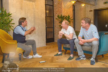 Interviewtermin Leberkäsjunkie - Max Brown Hotel, Wien - Do 01.08.2019 - Simon SCHWARZ, Sebastian BEZZEL, Christian SINEMUS13