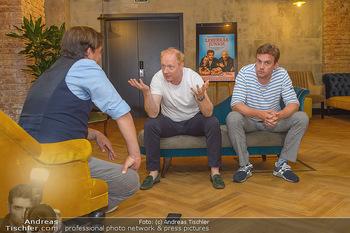Interviewtermin Leberkäsjunkie - Max Brown Hotel, Wien - Do 01.08.2019 - Simon SCHWARZ, Sebastian BEZZEL, Christian SINEMUS14