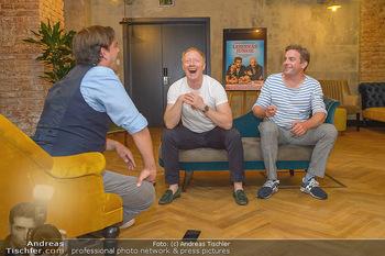 Interviewtermin Leberkäsjunkie - Max Brown Hotel, Wien - Do 01.08.2019 - Simon SCHWARZ, Sebastian BEZZEL, Christian SINEMUS15