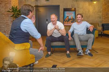 Interviewtermin Leberkäsjunkie - Max Brown Hotel, Wien - Do 01.08.2019 - Simon SCHWARZ, Sebastian BEZZEL, Christian SINEMUS16