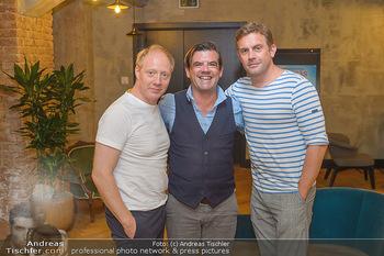 Interviewtermin Leberkäsjunkie - Max Brown Hotel, Wien - Do 01.08.2019 - Simon SCHWARZ, Sebastian BEZZEL, Christian SINEMUS19