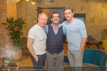 Interviewtermin Leberkäsjunkie - Max Brown Hotel, Wien - Do 01.08.2019 - Simon SCHWARZ, Sebastian BEZZEL, Christian SINEMUS20