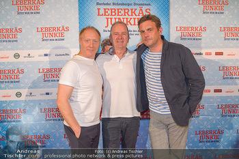 Kinopremiere ´Leberkäsjunkie´ - Cineplexx Donauplex - Do 01.08.2019 - Simon SCHWARZ, Sebastian BEZZEL, Christian LANGHAMMER34