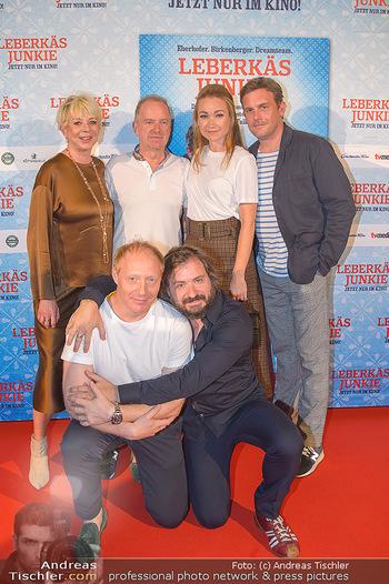 Kinopremiere ´Leberkäsjunkie´ - Cineplexx Donauplex - Do 01.08.2019 - Christian LANGHAMMER, Simon SCHWARZ, Sebastian BEZZEL, Lisa Mari36