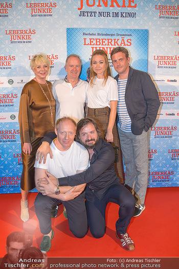 Kinopremiere ´Leberkäsjunkie´ - Cineplexx Donauplex - Do 01.08.2019 - Christian LANGHAMMER, Simon SCHWARZ, Sebastian BEZZEL, Lisa Mari37