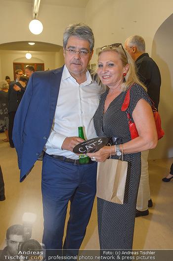 Festspielpremiere Berndorf - Stadttheater Berndorf - Do 01.08.2019 - Wolfgang HESOUN mit Ehefrau Brigitti12