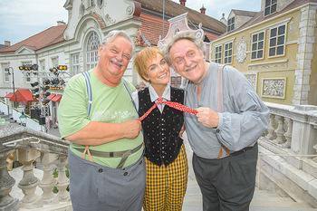 Premiere Stockerau Festspiele - Stockerau - Fr 02.08.2019 - Gerhard ERNST, Franz SUHRADA, Barbara KAUDELKA1