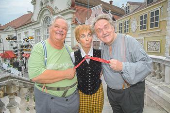 Premiere Stockerau Festspiele - Stockerau - Fr 02.08.2019 - Gerhard ERNST, Franz SUHRADA, Barbara KAUDELKA29