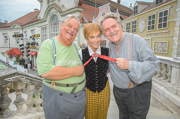 Premiere Stockerau Festspiele - Stockerau - Fr 02.08.2019 - Gerhard ERNST, Franz SUHRADA, Barbara KAUDELKA30