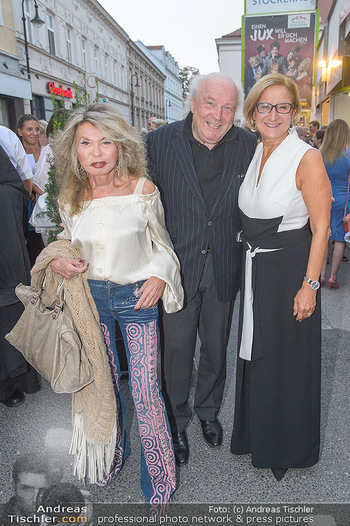 Premiere Stockerau Festspiele - Stockerau - Fr 02.08.2019 - Johanna MIKL-LEITNER, Friedrich und Jeanine SCHILLER74