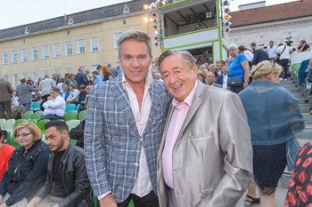 Premiere Stockerau Festspiele - Stockerau - Fr 02.08.2019 - Richard LUGNER, Alfons HAIDER80