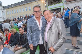 Premiere Stockerau Festspiele - Stockerau - Fr 02.08.2019 - Richard LUGNER, Alfons HAIDER81
