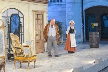 Premiere Stockerau Festspiele - Stockerau - Fr 02.08.2019 - Gerhard ERNST, Erika DEUTINGER (Bühnenfoto)123