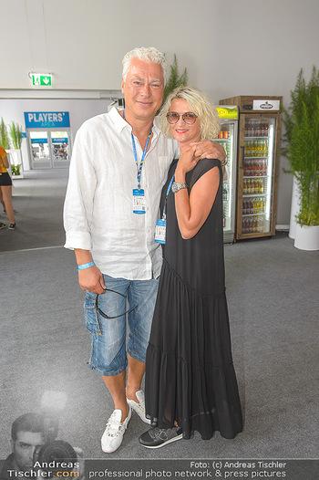 Beachvolleyball - Donauinsel Wien - Sa 03.08.2019 - Toni POLSTER mit Birgit4