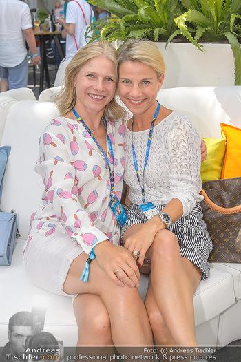 Beachvolleyball - Donauinsel Wien - Sa 03.08.2019 - Kristina SPRENGER mit Schwester Daria8