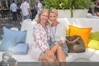 Beachvolleyball - Donauinsel Wien - Sa 03.08.2019 - Kristina SPRENGER mit Schwester Daria9