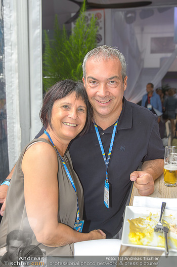 Beachvolleyball - Donauinsel Wien - Sa 03.08.2019 - Robert LETZ, Marion FINGER10