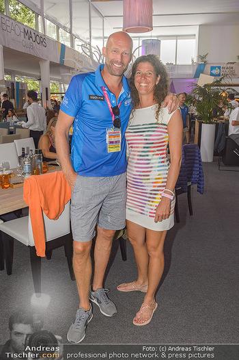 Beachvolleyball - Donauinsel Wien - Sa 03.08.2019 - Nik BERGER, Susanne MINICHSDORFER18