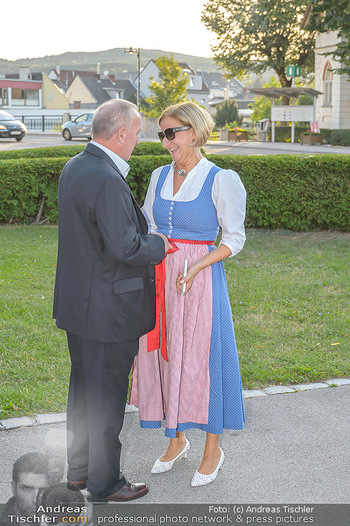 LH Mikl-Leitner besucht die Festspiele - Stadttheater Berndorf - Do 08.08.2019 - Johanna MIKL-LEITNER, Bürgermeister Hermann KOZLIK7