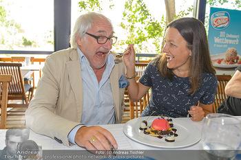 Eisdessert Wettbewerb - Summerstage, Wien - Mo 12.08.2019 - Michael SCHOTTENBERG mit Freundin Claire18