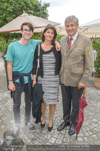 Festival Eröffnung - Grafenegg Wolkenturm - Fr 16.08.2019 - Familie Michael SPINDELEGGER mit Ehefrau Margit und Sohn Matthia6