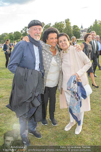Festival Eröffnung - Grafenegg Wolkenturm - Fr 16.08.2019 - Arik und Naomi BRAUER, Agi BUCHBINDER26
