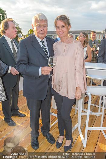 Festival Eröffnung - Grafenegg Wolkenturm - Fr 16.08.2019 - Peter WECK mit Begleitung Johanna33