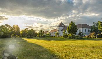 Festival Eröffnung - Grafenegg Wolkenturm - Fr 16.08.2019 - Sonnenuntergang beim Schloss Grafenegg35