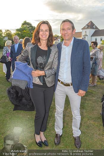 Festival Eröffnung - Grafenegg Wolkenturm - Fr 16.08.2019 - Sophie KARMASIN mit Ehemann Gerhard SCHALLER39