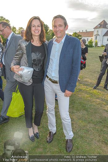 Festival Eröffnung - Grafenegg Wolkenturm - Fr 16.08.2019 - Sophie KARMASIN mit Ehemann Gerhard SCHALLER40