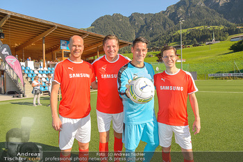 Samsung Charity Cup - Alpbach - Di 27.08.2019 - Johnny ERTL, Helge PAYER, Marvin PETERS, Michael STIX60