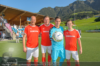 Samsung Charity Cup - Alpbach - Di 27.08.2019 - Johnny ERTL, Helge PAYER, Marvin PETERS, Michael STIX61
